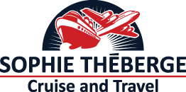 Travel agency logo Cruise and Travel Sophie Théberge